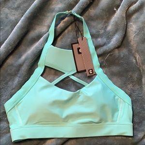 Barbells box bra/swim top size 6